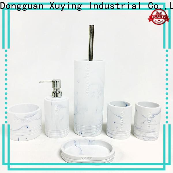 Xuying Bathroom Items fashion gray bathroom decor manufacturer for restroom