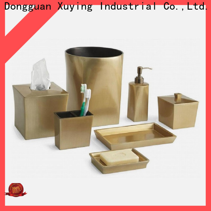 Xuying Bathroom Items rose gold bathroom set customized for restroom