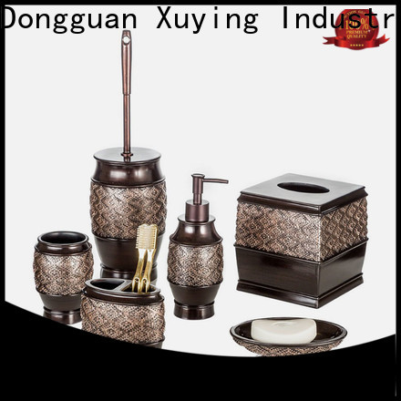 Xuying Bathroom Items durable black and gold bathroom customized for hotel