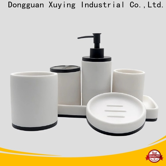 Xuying Bathroom Items durable black bathroom accessories wholesale for restroom
