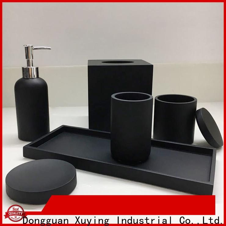 Xuying Bathroom Items fashion black and gold bathroom wholesale for bathroom