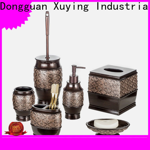 Xuying Bathroom Items modern black bathroom accessories set wholesale for bathroom