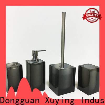 hot selling black bathroom accessories factory price for hotel