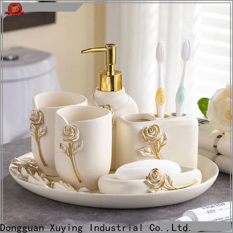 Xuying Bathroom Items grey bathroom accessories set on sale for bathroom