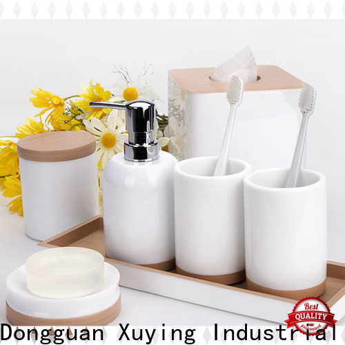long lasting matte black bathroom accessories factory for hotel