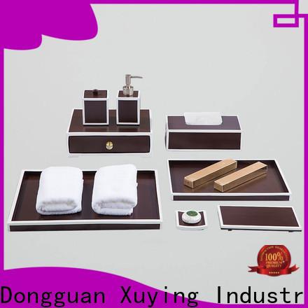 elegant matte black bathroom accessories supplier for restroom