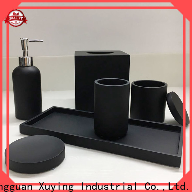 elegant gold bathroom accessories customized for bathroom