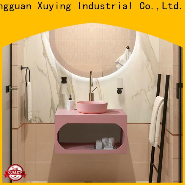 Xuying Bathroom Items elegant blue bathroom accessories set customized for hotel