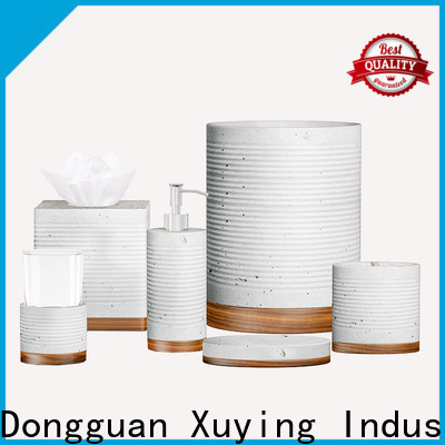 Xuying Bathroom Items modern silver bathroom accessories on sale for hotel