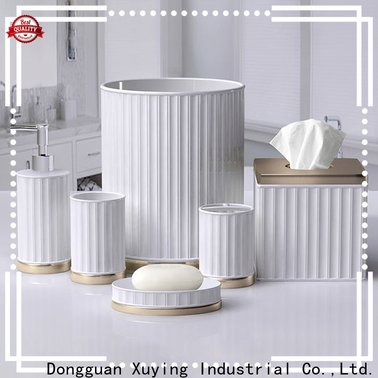 Xuying Bathroom Items hot selling ceramic soap dish factory for hotel