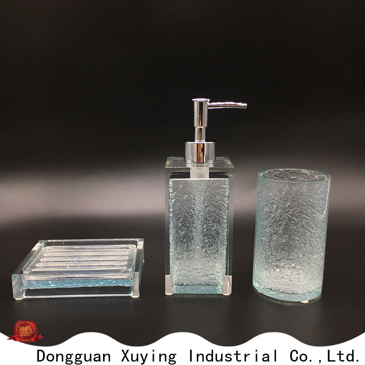 Xuying Bathroom Items practical gold bathroom accessories factory price for hotel