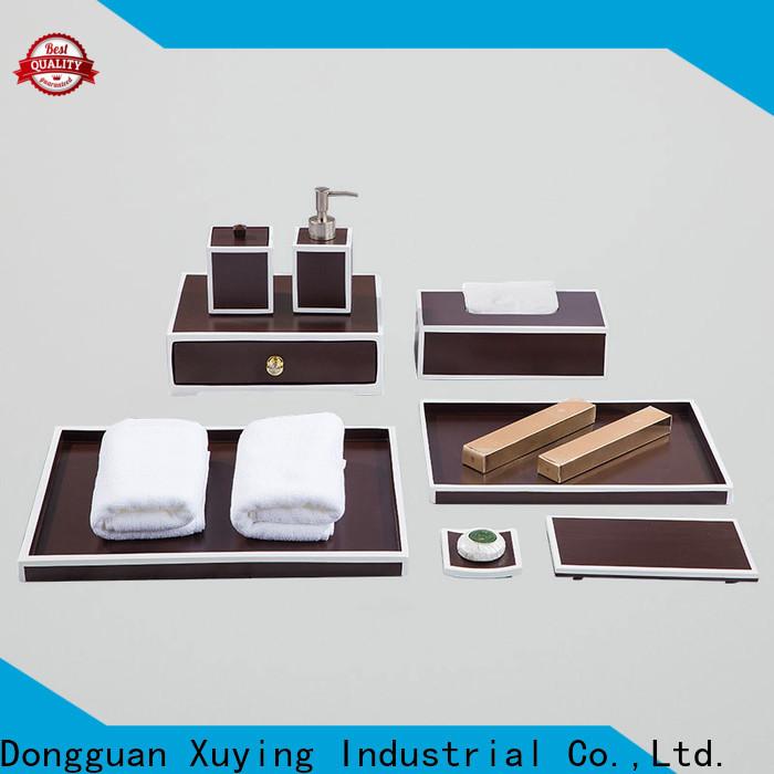 Xuying Bathroom Items long lasting matte black bathroom accessories supplier for bathroom