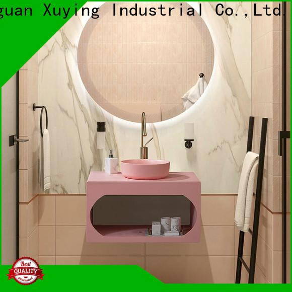 Xuying Bathroom Items modern silver bathroom accessories customized for hotel