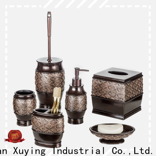 Xuying Bathroom Items durable black and gold bathroom on sale for hotel