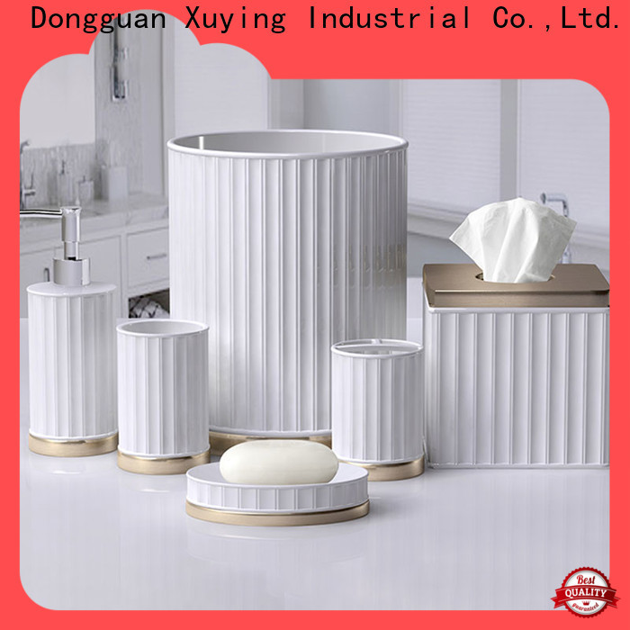 Xuying Bathroom Items ceramic bathroom accessories supplier for restroom