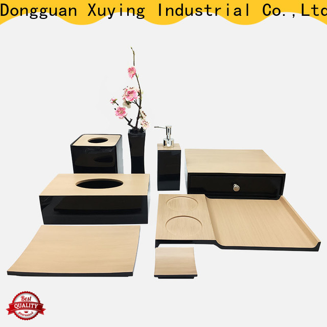 Xuying Bathroom Items matte black bathroom accessories supplier for home