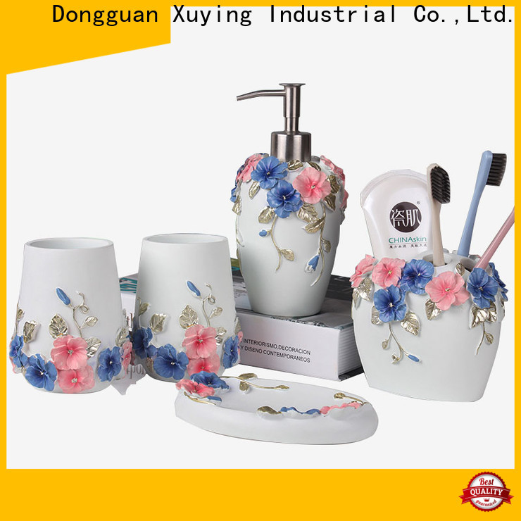Xuying Bathroom Items elegant black and gold bathroom on sale for home