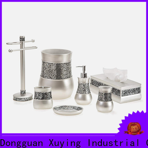 Xuying Bathroom Items black bathroom accessories manufacturer for hotel