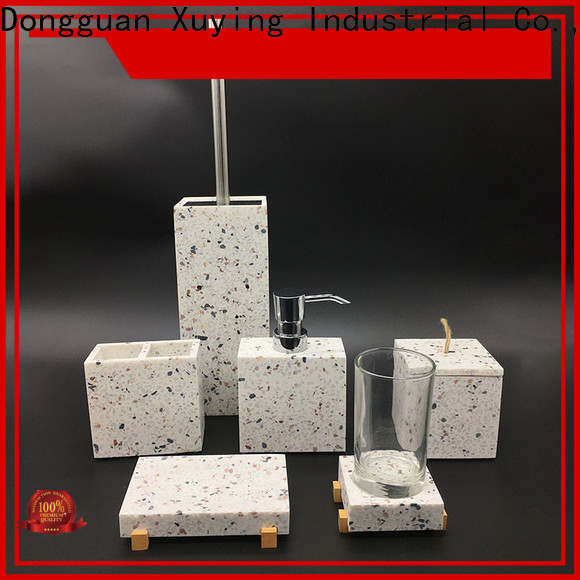 Xuying Bathroom Items black and white bathroom accessories wholesale for restroom