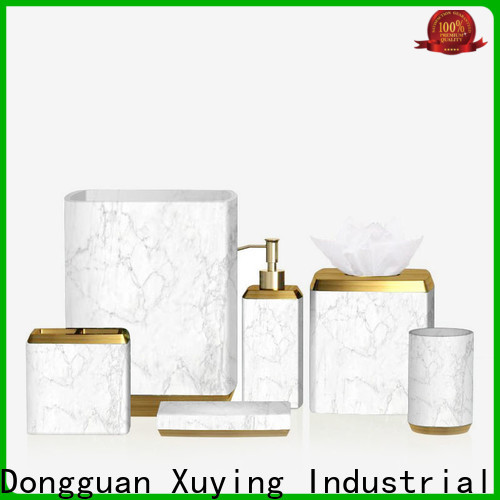 Xuying Bathroom Items gold bathroom accessories manufacturer for hotel