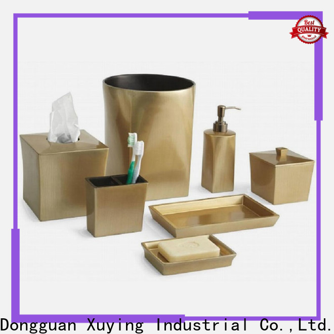 fashion gold bathroom accessories on sale for restroom